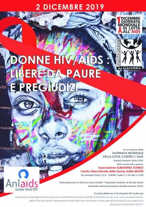 Donne, Hiv/Aids: libere da paure e pregiudizi