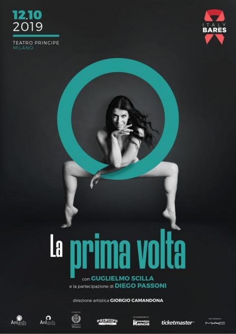 La Prima Volta Progetto Italy Bares il 12 ottobre al Teatro Principe di Milano