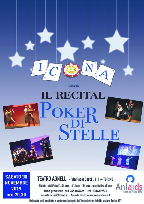 30 novembre spettacolo in favore di Anlaids Torino