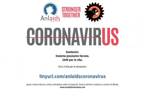 Stronger Together: campagna Anlaids per sostenere l'emergenza COVID-19