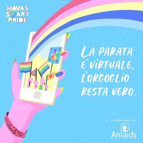 #HavasSmartPride Anlaids sarà al Pride con Havas