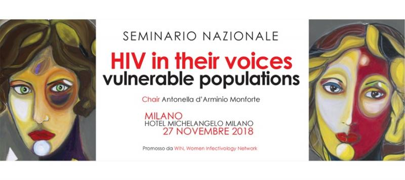 HIV in Their Voices - Seminario Nazionale Milano, 27 novembre 2018
