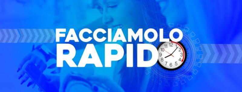 Test rapido salivare nella sede ANLAIDS a Roma