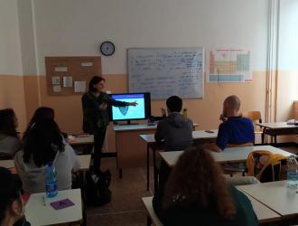 Progetto Scuola al Liceo Pertini di Genova