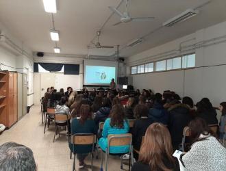 Lezione col gruppo Peer Educator - Liceo benedetto da Norcia, Roma